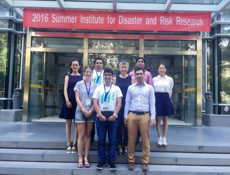 Five Exchange Researchers Completed the 2016 Summer Institute on Disaster and Risk Research