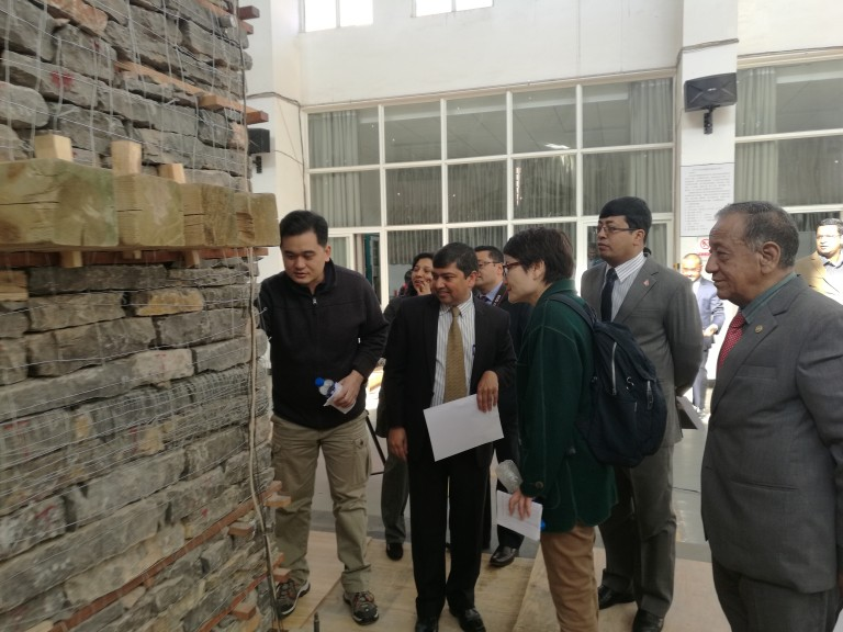 China-Nepal Joint Experiment of RETROFIT Project supported by ICCR-DRR